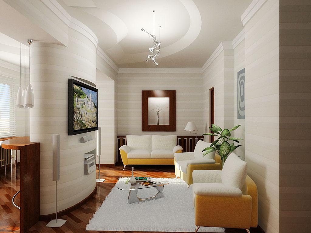 Ремонт однокомнатной квартиры по шагам: идеи ремонта