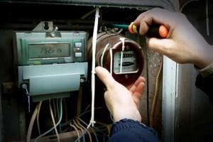 Замена старого счетчика электроэнергии на новый