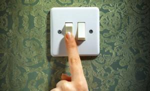 Выключать свет