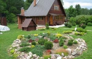 Дачный дом и участок